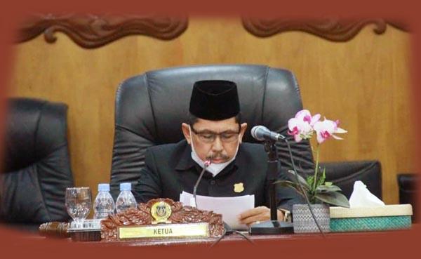 Ketua DPRD Tanjab Barat H. Abdullah, SE