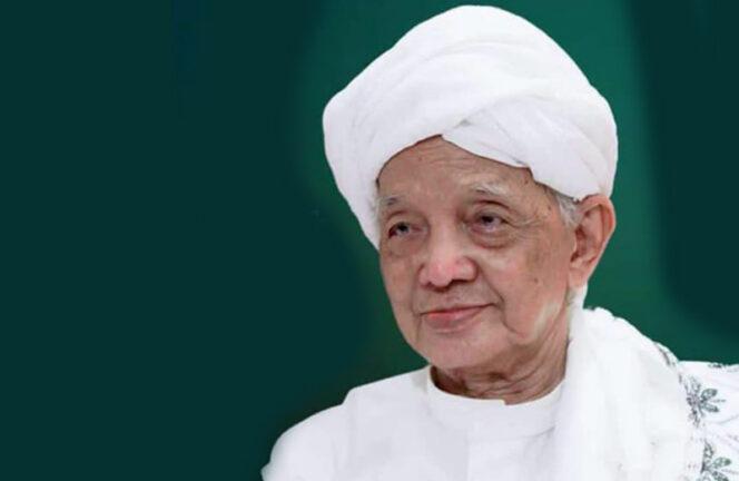 FOTO : Tuan Guru KH. Abdullah Bin Syekh KH. Abdul Wahab Al-Banjari/Ist