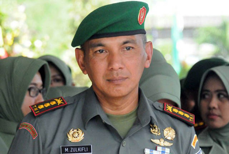 FOTO : Kolonel Kav M. Zulkifli Danrem 042 Gapu Jambi Yang Baru