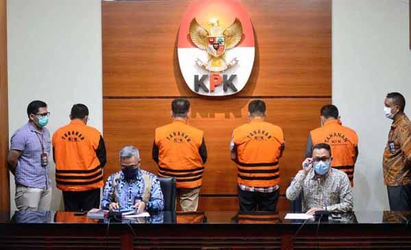 Plh Deputi Penindakan KPK, Setyo Budianto Saat Menggelar Konpers di KPK Jalan Kuningan Persada, Jakarta Selatan, Kamis (17/6/2021). FOTO : Istimewa