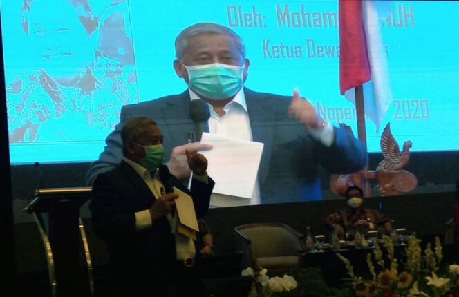 Ketua Dewan Pers Prof Muhammad Nuh. FOTO : Penrem042