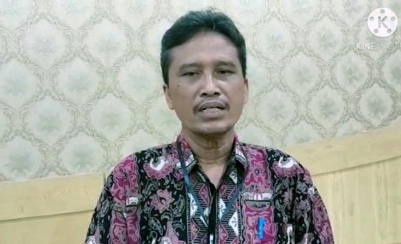 FOTO : Ketua KPU Kabupaten Tanjabbar, Hairuddin