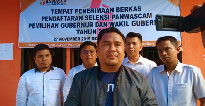 FOTO : Komisioner Bawaslu Merangin, Abdul Rahim/Tintajambi.com