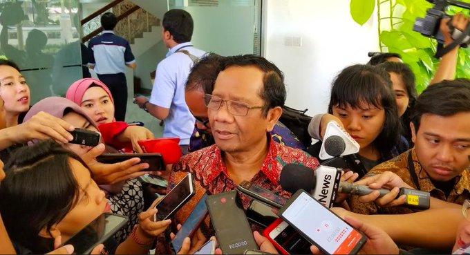 Mahfud MD, Menteri Koordinator Bidang Politik, Hukum dan Keamanan ripublik Indonesia./FOTO.Google
