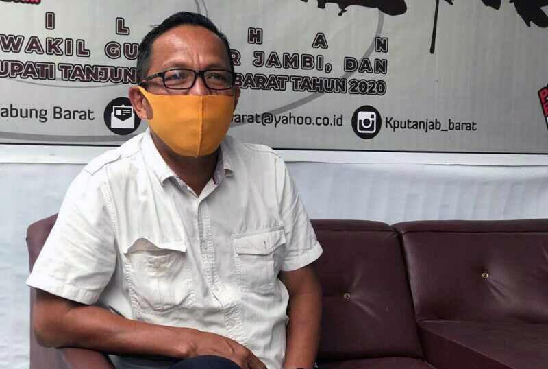 FOTO : Muhammad Rum, Komisioner Hukum dan Pengawasan di Komisi Pemilihan Umum (KPU) Kabupaten Tanjab Barat