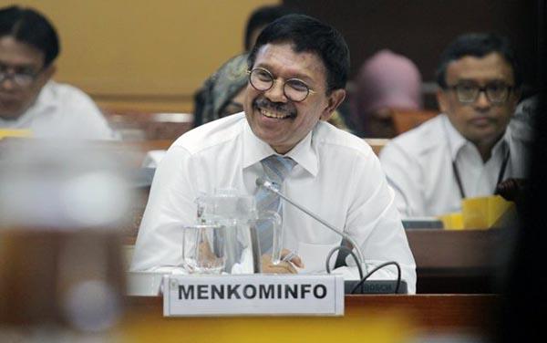 Johnny Gerard Plate, Menteri Komunikasi dan Informatika Indonesia. FOTO : Istmewa