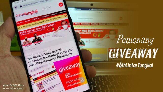 Giveaway #6thLintasTungkal2021