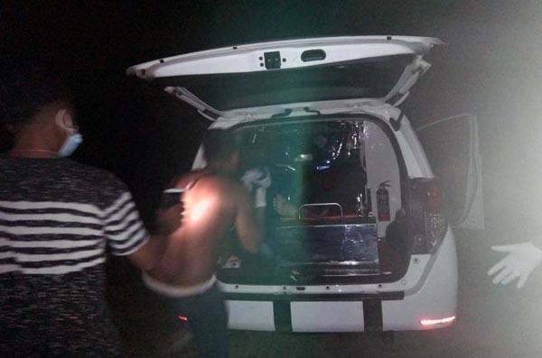 FOTO : Pperistiwa Dua Warga Terlibat Duel di Kelurahan Merlung, Kabupaten Tanjab Barat, Sabtu (05/06/21)