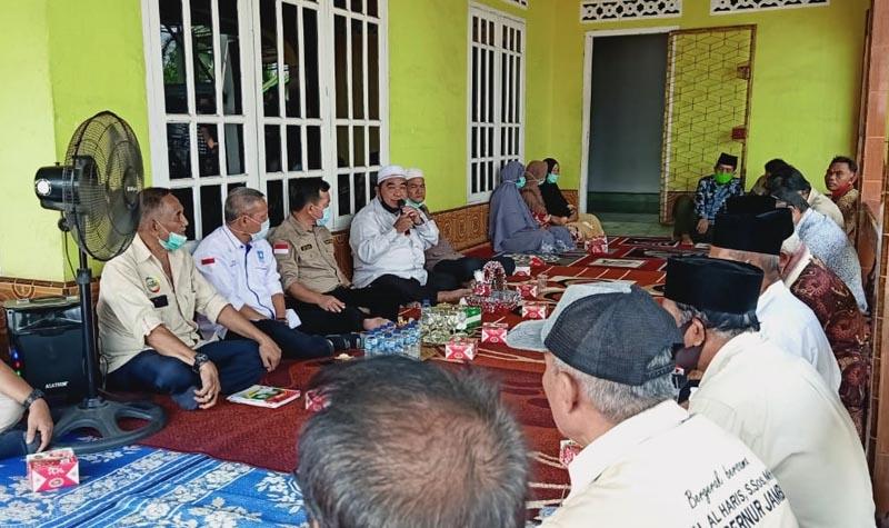 FOTO : Pertemuan Al Haris dengan Pengurus PPJ kabupaten/kota di Posko Center Haris-Sani, Jumat (16/10/20).