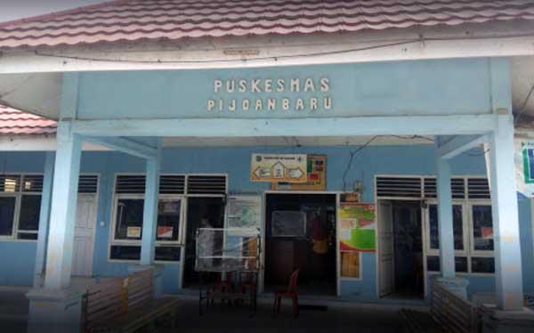 Puskesmas Rawat Inap Pijoan Baru Tebing Tinggi Kabupaten Tanjung Jabung Barat JAMBI 36556. FOTO : GOOGLEMAP
