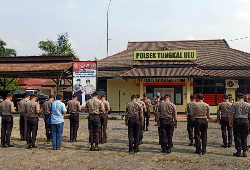 FOTO : Polsek Tungkal Ulu Polres Tanjung Jabung Barat