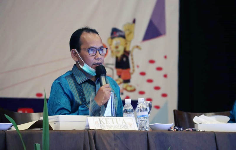 FOTO : Ketua KPU Provinsi Jambi M. Subhan/IG KPU Prov Jambi