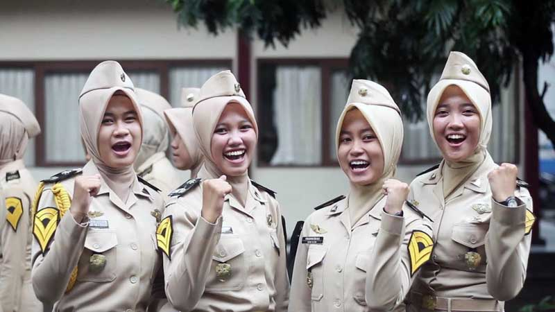 Taruni Politeknik Transportasi Jalan STTD. FOTO : Istimewa