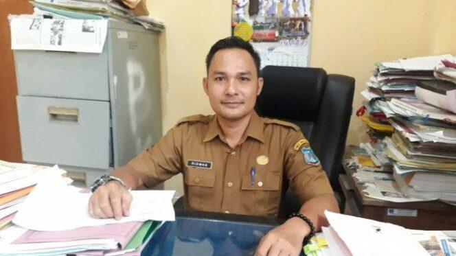 FOTO : Ridwan, SH, Kepala Bidang Pengadaan Sistem Informasi Kepegawaian BKPSDM Kabupaten Tanjung Jabung Barat