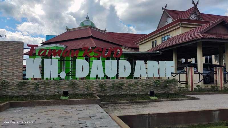 FOTO : RSUD KH Daud Arif Kuala Tungkal, Kabupaten Tanjab Barat