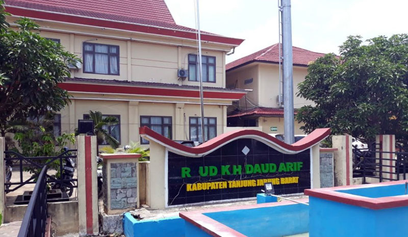 FOTO : RSUD KH Daud Airf Kuala Tungkal Kabupaten Tanjung Jabung Barat