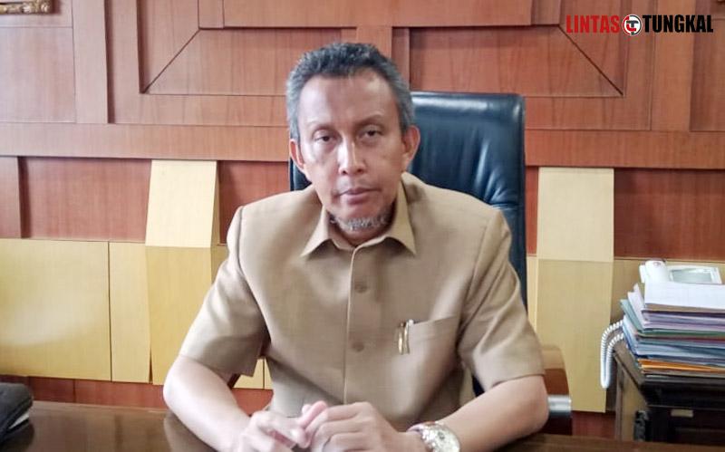 FOTO : Sekretaris Daerah Kabupaten Tanjung Jabung Barat Ir. H. Agus Sanusi M.Si