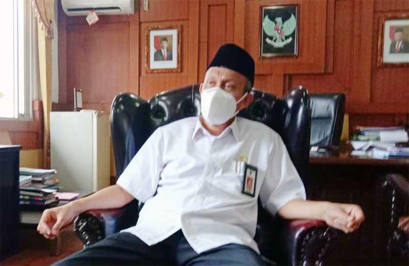FOTO : Ir. H. Agus Sanusi, Sekretaris Daerah (Sekda) Kabupaten Tanjab Barat