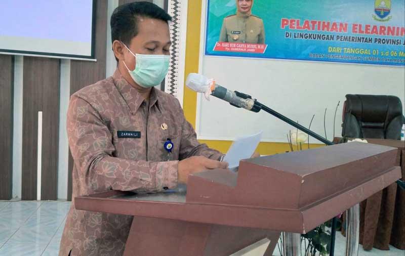 Sekretaris BPSDM Provinsi Jambi Dr. H. Zarmaili, MM