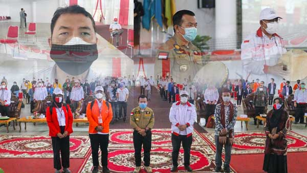 Acara Pembukaan KKN Kebangsaan di Universitas Jambi, Sabtu (24/07/21). FOTO. Dok. SKK MIGAS