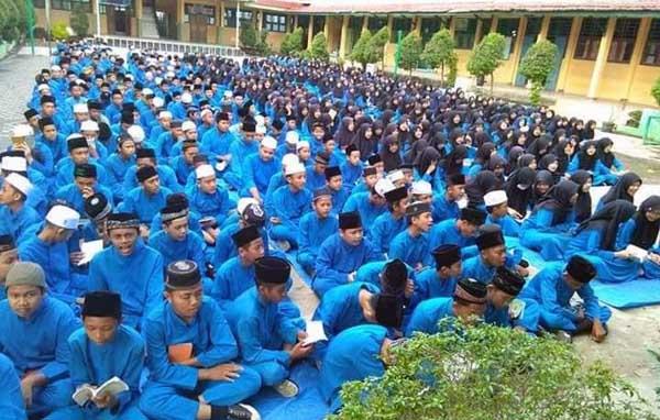SMP Negeri 2 Kuala Tungkal. FOTO : Istimewa
