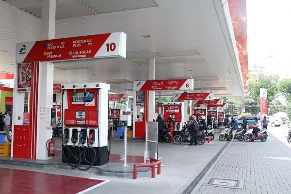Stasiun Pengisian Bahan Bakar untuk Umum (SPBU). FOTO : Isstimewa