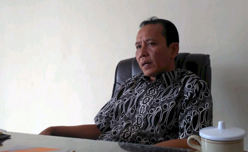 FOTO : Ketua KPU Provinsi Jambi Subhan