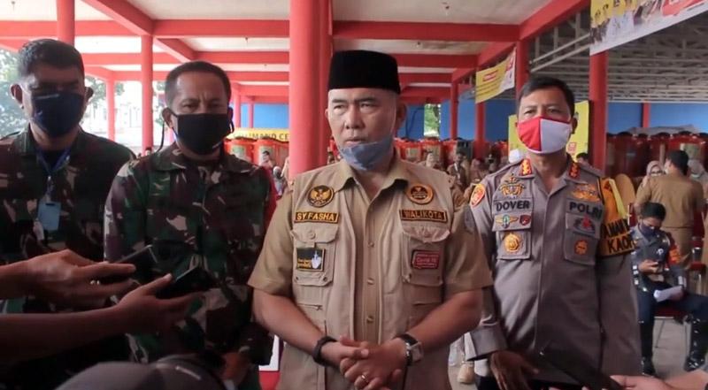 FOTO : Wali Kota Jambi Syarif Fasha