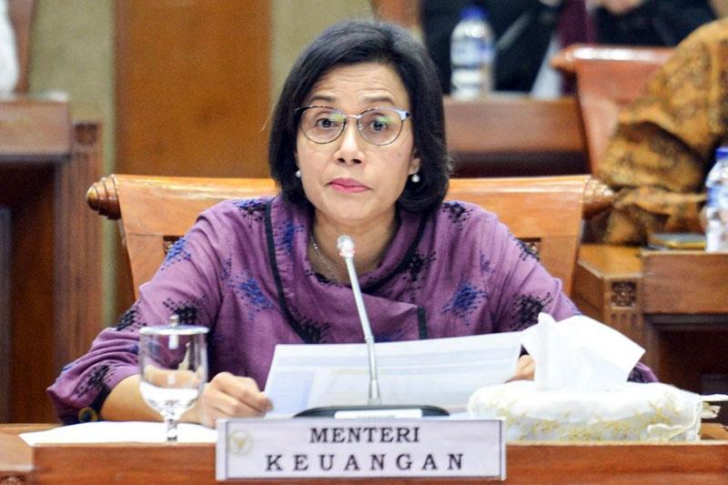 Menteri Keuangan Sri Mulyani Indrawati. FOTO : Katadata.co.id