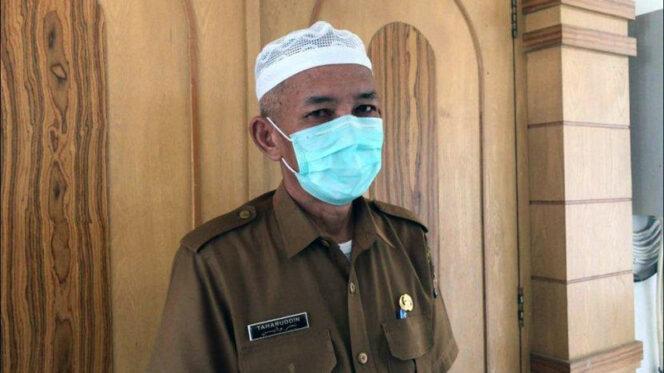 FOTO : Juru Bicara Gugus Tugas P2 Covid-19 Tanjab Barat, Ir. H. Taharuddin