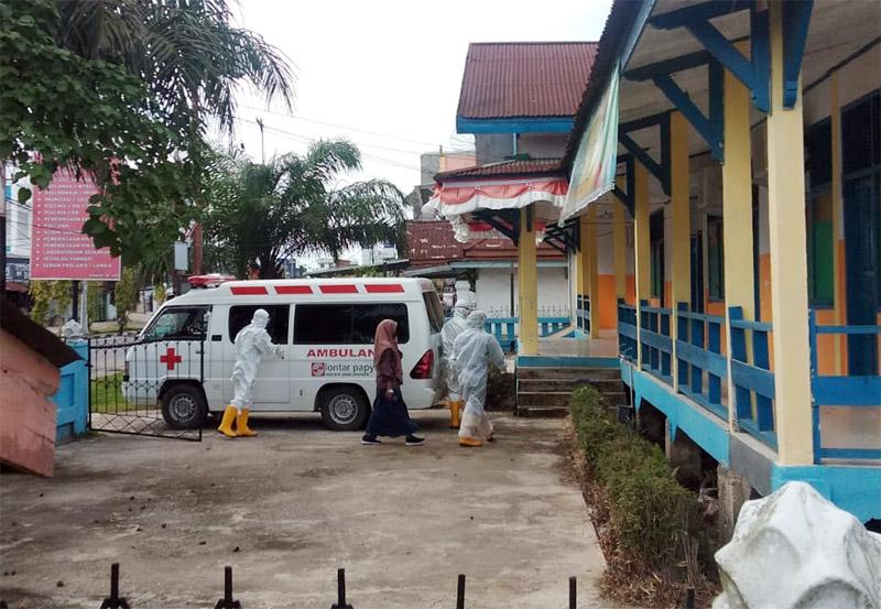 FOTO : Eks Gedung Puskesmas Kuala Tungkal II