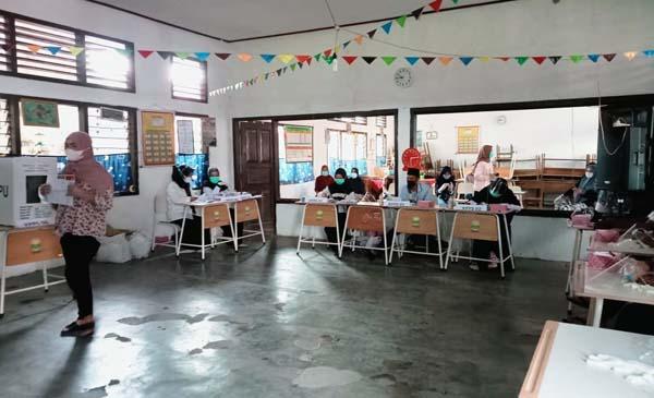 FOTO : TPS 04 Desa Senaung Kecamatan Jambi Luar