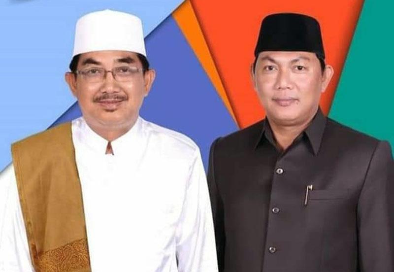 FOTO : Drs. H. Anwar Sadat, M.Ag dan Hairan, SH/Ist