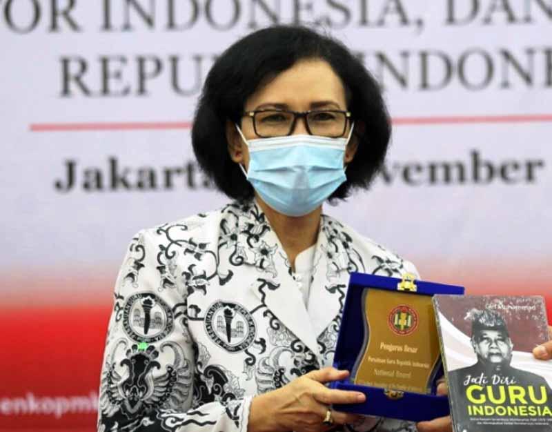 Ketua Umum PGRI Prof. Dr. Unifah Rosyidi, M.Pd/FOTO : Suarakarya.co.id
