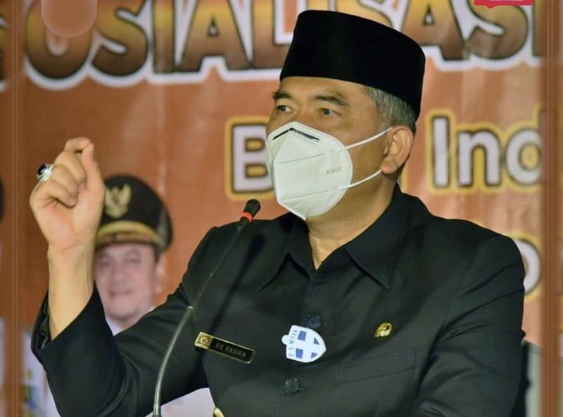 FOTO : Wali Kota Jambi Dr. H. Syarif Fasha