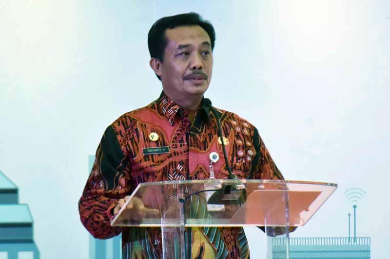 Direktur Jenderal Bina Pemerintahan Desa Kementerian Dalam Negeri (Kemendagri) Yusharto Huntoyungo. FOTO : Kementrian Kominfo