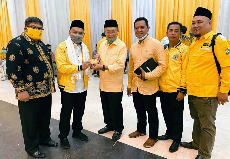 FOTO : M. Amin Saat Mengikuti Rapat Internal Partai Golkar dengan tema Penyerahan Formulir B 1 KWK di Jakarta, Senin (31/08/20)