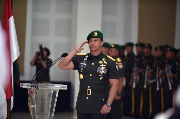 Kepala Staf Angkatan Darat (KSAD) Jenderal Andika Perkasa. FOTO : Istimewa