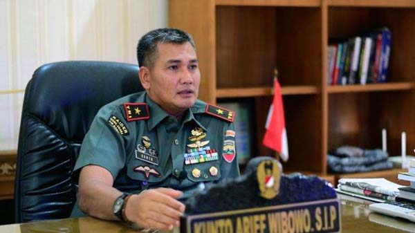 Mayor Jenderal (Mayjen) TNI Kunto Arif Wibowo Saat Masih Berpangkat Bringjen TNI. FOTO : TribunManado