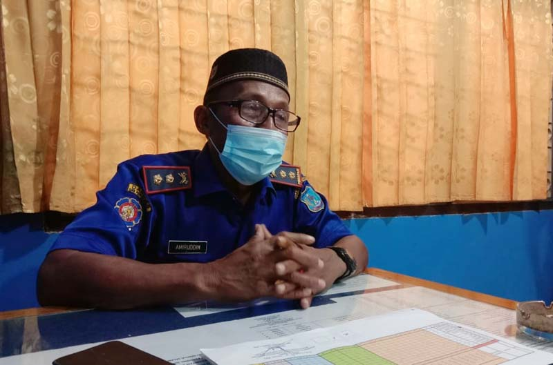 FOTO : Amiruddin, Kabid Pemadam Kebakaran dan Keselamatan Kabupaten Tanjab Barat
