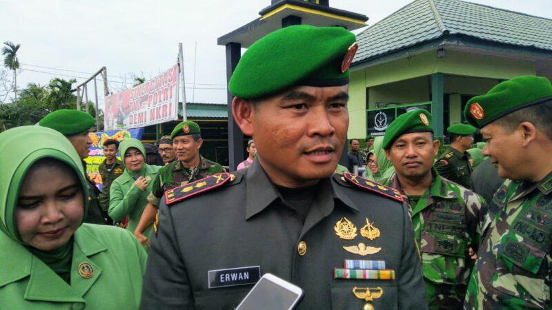 Dandim 0419 Tanjab Letkol Inf Erwan Susanto, S.IP