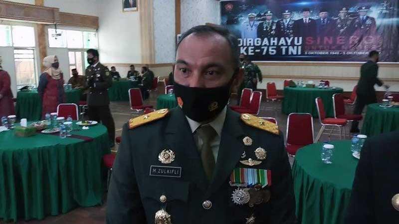 Komandan Korem 042/Garuda Putih Brigjen TNI M. Zulkifli