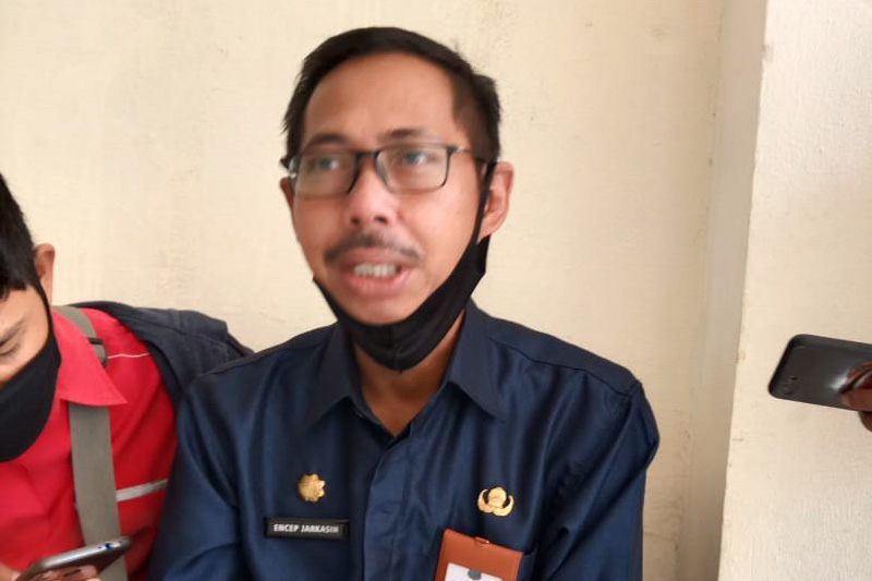FOTO : Drs. Encep Zarkasih, Kepala Inspektorat Kabupaten Tanjabbar