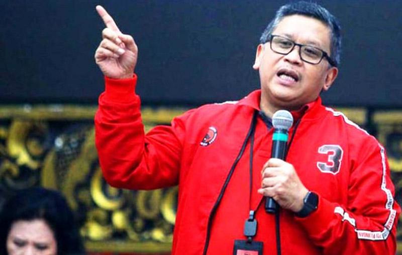 FOTO : Sekjen DPP PDIP Hasto Kristiyanto