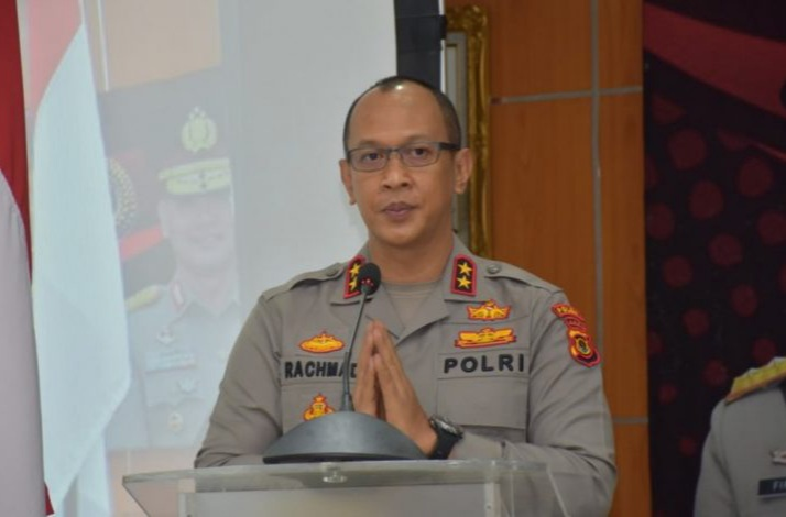 FOTO : Kapolda Jambi Irjen Pol A Rachmad Wibowo, SIK.