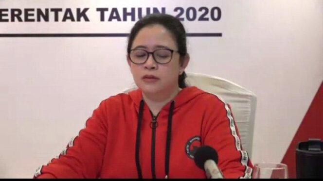 Ketua DPP PDI-P Bidang Politik dan Keamanan Puan Maharani