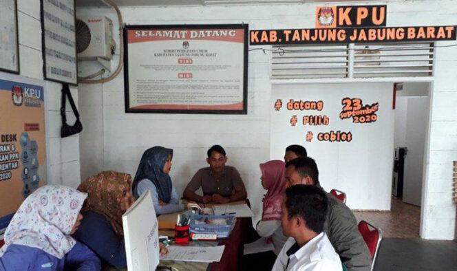 FOTO : Istimewa/Sekretariat KPU Tanjab Barat