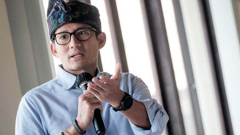 Menteri Pariwisata dan Ekonomi Kreatif Republik Indonesia, Sandiaga Uno. FOTO : Istimewa