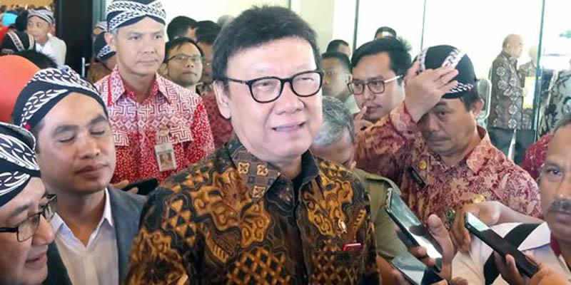 FOTO : Menteri Pendayagunaan Aparatur Negara dan Reformasi Birokrasi (PAN-RB) Tjahjo Kumolo/Ist