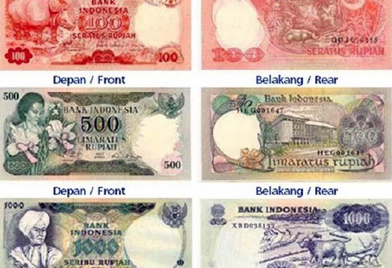 FOTO : Ilustrasi Uang yang Akan Ditarik Edarnya Akhir Tahun 2020/Ist